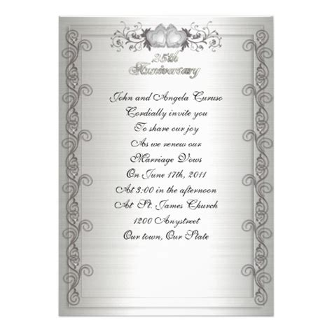 invitation wording ideas for wedding vow renewal with