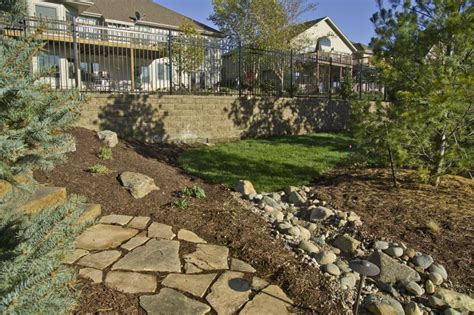 landscaping lincoln ne creek bed photo gallery