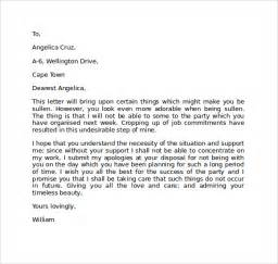 Apology Letter For Friend Tagalog Apology Letter 7 Free Documents In Pdf Word