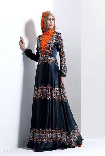 Tantri Dress Tz Gamis Dress Baju Wanita Muslim Ramadhan Tz contoh model busana muslim wanita elegan dan mewah 2016