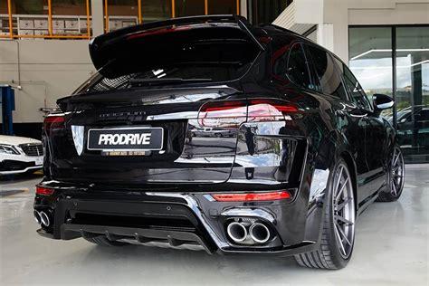 Techart Tieferlegung Cayenne by Techart Magnum Widebody Porsche Cayenne Tuning 8