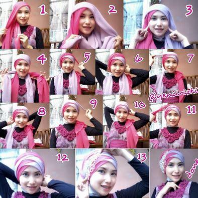 tutorial hijab untuk wisuda smp tutorial hijab modern terbaru simple untuk berbagai acara