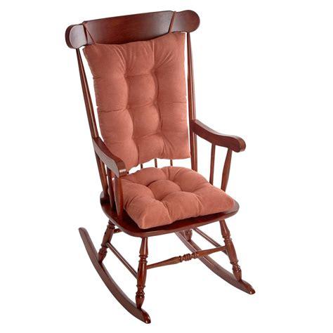 rocking chair cusion klear vu gripper twillo clay jumbo rocking chair cushion