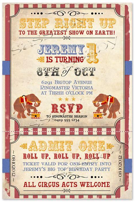 circus invitation template carnival invitations template invitations ideas