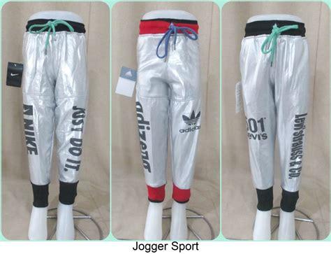 Celana Jogger Katun Murah Minimal Order 3pcs sentra grosir celana jogger sport anak terkini murah 15ribu