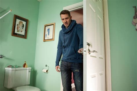 bathroom accident stories hollyoaks nancy to become suspicious over maxine patrick