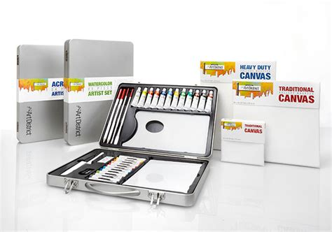 Logsdon Office Supply by The District Acrylic And Watercolor Supplies Sets