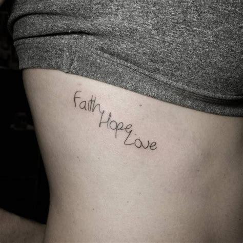 hope faith tattoo 30 amazing faith designs meanings 2018