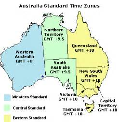 usa time zone vs australia the time zones of australia