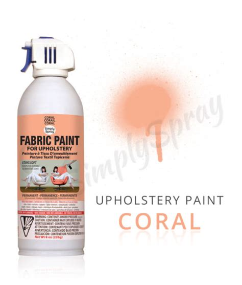 upholstery dye spray coral fabric dye spray paint quick easy effective