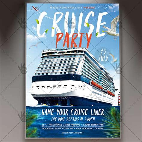 Download Cruise Flyer Psd Template Psdmarket Cruise Flyer Template Free