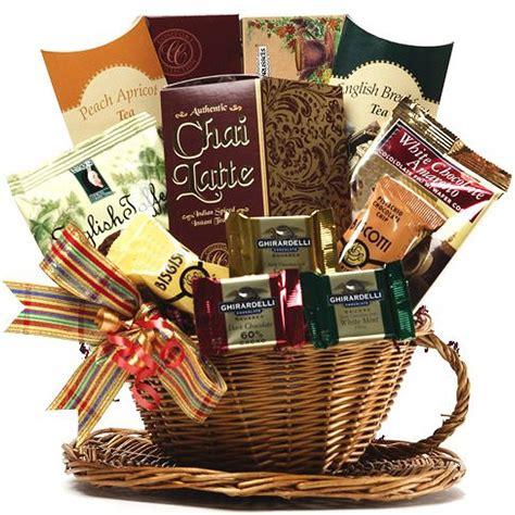 gourmet gifts you re my cup of tea gift basket sweet special present