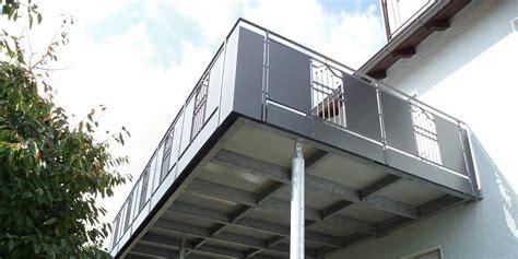 Anbau Balkon Stahl by Balkonbau Auburger Stahl Anbaubalkone Balkonanbauten
