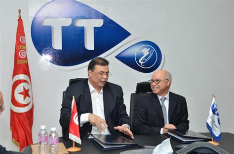 siege tunisie telecom tunisie t 233 l 233 com et l ugtt signent un partenariat