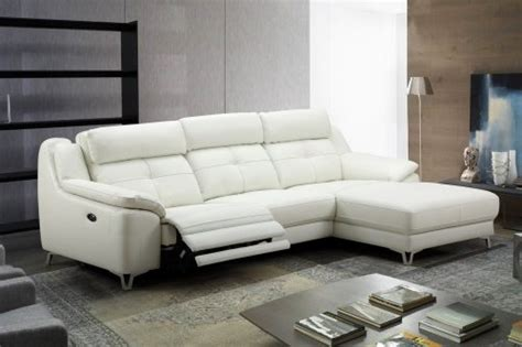contemporary touch l contemporary l shape electrical recliner sofa set with a