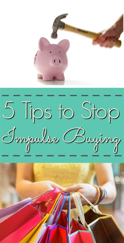 Tips To Stop Impulse Buying by 5 Tips To Stop Impulse Buying Frugal Finds During Naptime