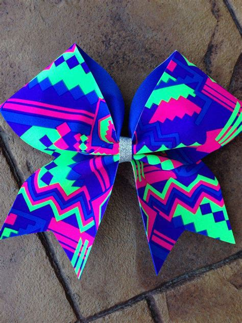 Cool Home Decor Stores by Aztec Cheer Bow From Thecopperpixy On Etsy Bows