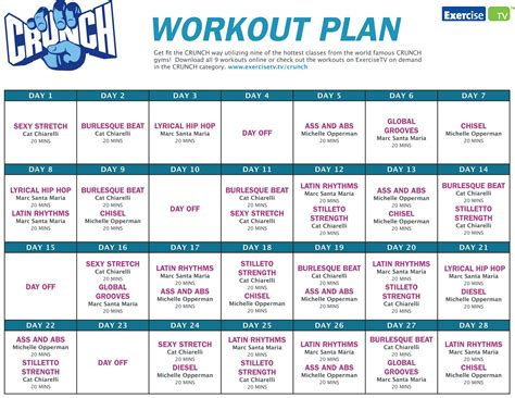 home gym workout plan workout plans for the gym