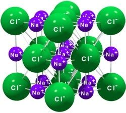 Chemical Name For Table Salt Why Does Nacl Have A High Melting Point Quora