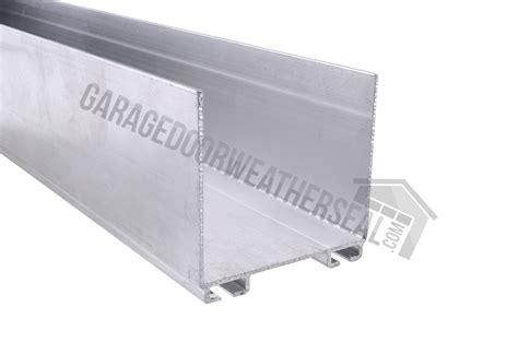 garage door bottom retainer 2 x 2