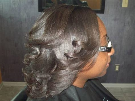 wash and set styles for black women difference between a wash and set and a blowout photos