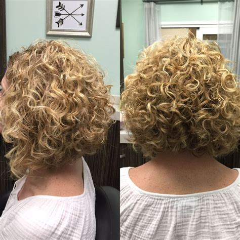 layered permed bob cuts curly aline haircut short curly hair deva curl deva cut