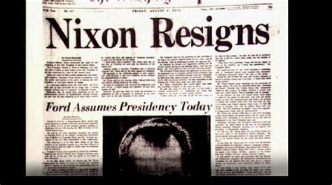 S Resignation Letter Washington Post Drove Richard Nixon Bob Says 40 Years After Watergate Forced