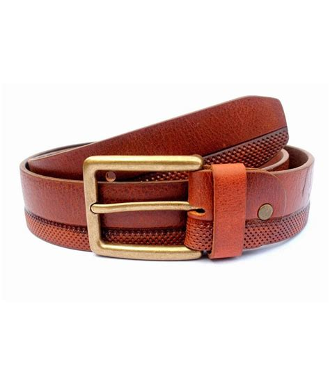 tops leather casual belts buy at low price in