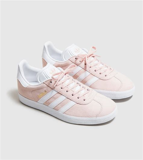 lyst adidas originals gazelle s in pink