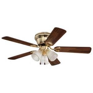 home elegance 42 quot flushmount ceiling fan walmart com