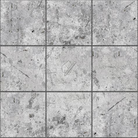 Concrete paving outdoor damaged texture seamless 05518