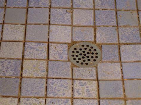 Tile Shower Drain by New Shower Floor