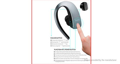 Hoco Touch Wireless Bluetooth Headset E10 11 46 Hoco E10 Touch Bluetooth V4 1 Headset Authentic Free Call