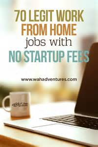 work from home with no startup cost free