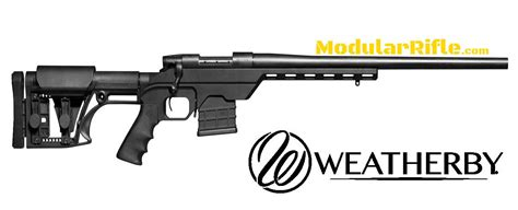 Mcrees Rifle Vs Mba by Weatherby Vanguard Modular Chassis Modularrifle