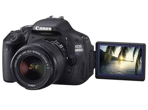 Kamera Canon Seri 600d harga canon 600d terbaru dan spesifikasi lengkap lemoot