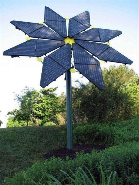 Solar Panel Flowers Charge By Day And Light Up At by Solar Tree Lights In India Solar Tree For