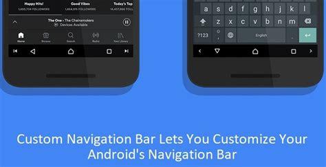 android navigation bar custom navigation bar lets you customize your android s navigation bar without root droidviews