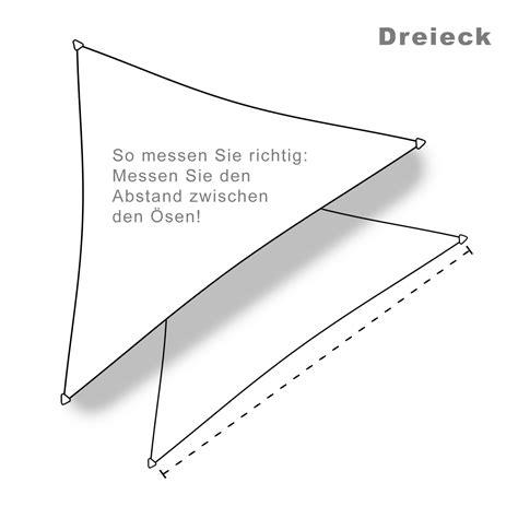 sonnensegel wasserdicht dreieck sonnensegel wasserdicht dreieck 5x5x5m 3 farben garten