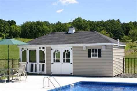 pool houses  cabanas  pa