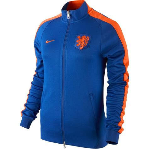 Jaket Samdoria 201415 2014 15 nike authentic n98 jacket blue 589854 471 uksoccershop
