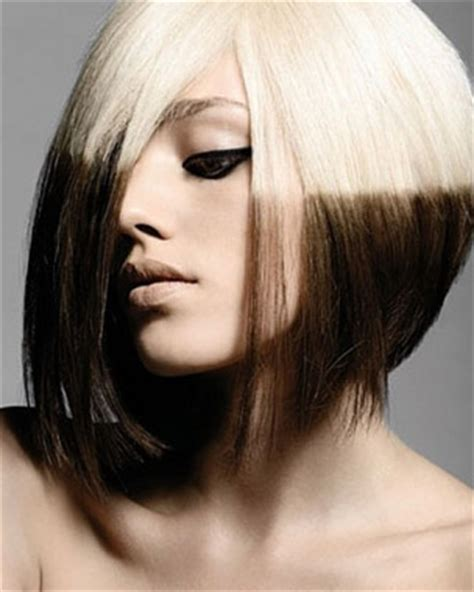 reverse bob with two tone color 8 long pixie haircuts learn haircuts