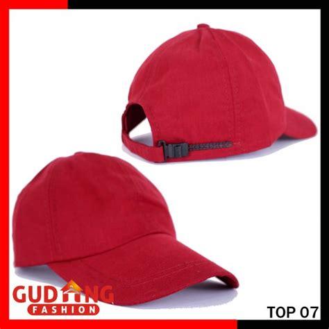 Topi Silence Keren 07 topi keren distro katun twill merah maroon top 07 gudang fashion