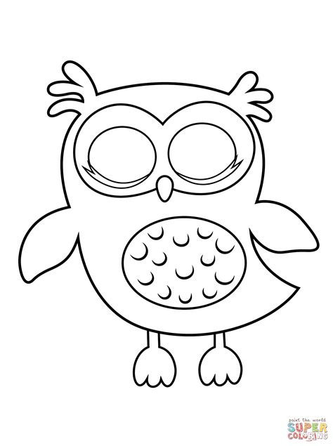 owl coloring pages pdf sleepy owl coloring page free printable coloring pages