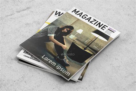 54 Photorealistic Magazine Cover Mockups Psd Ai Free Premium Templates Magazine Cover Mockup Template