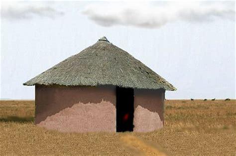 xhosa hutte huise vir afrika