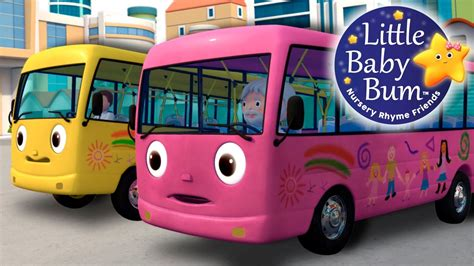 bysabys bys a bys wheels on the bus part 8 nursery rhymes by
