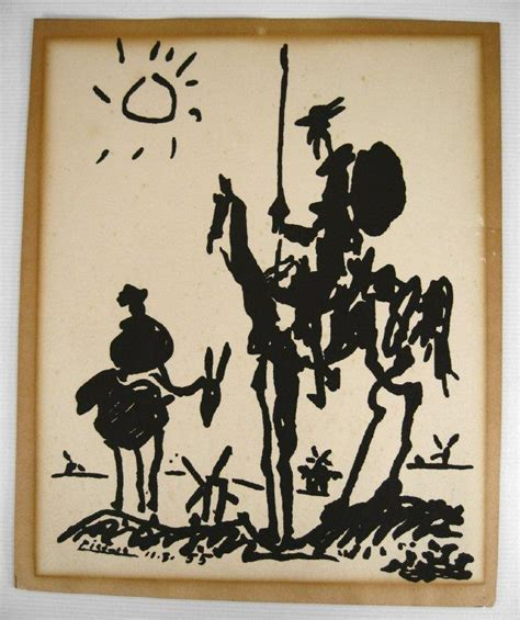 picasso paintings don quixote igavel auctions pablo picasso 1881 1973 don