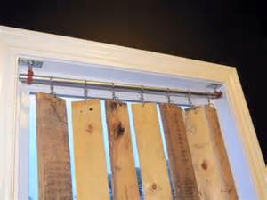 How To Install Vertical Blinds For Patio Door Diy Pallet Wood Vertical Blinds