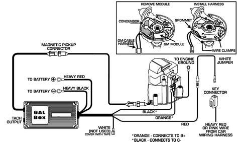 msd 6al wiring diagram hei distributor 38 wiring diagram